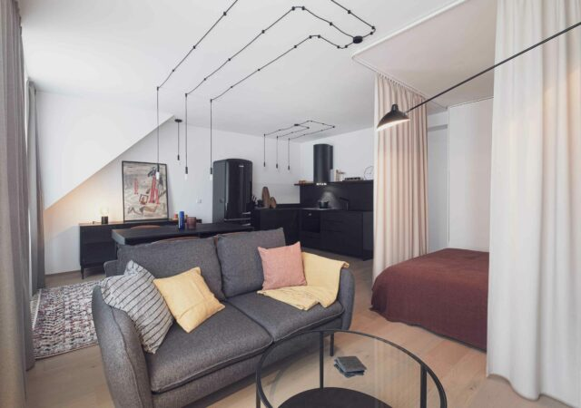 Mancave – hotelový pokoj